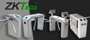 Новинка от ZKTeco — турникеты с поворотным кронштейном.