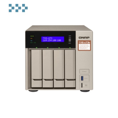 Сетевой RAID-накопитель QNAP TVS-473e-8G