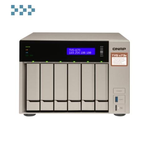Сетевой RAID-накопитель QNAP TVS-673e-8G