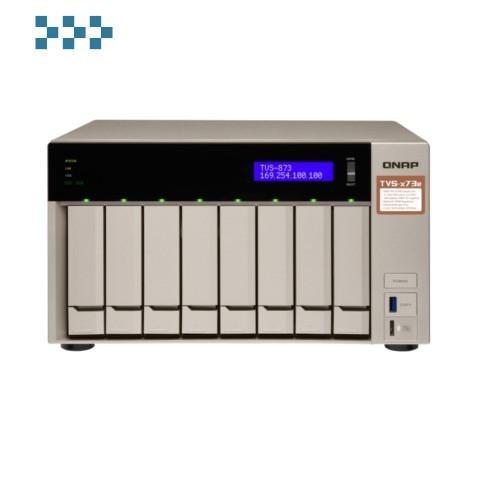 Сетевой RAID-накопитель QNAP TVS-873e-8G