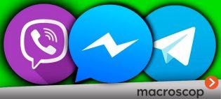 Видеосистема Macroscop в вашем любимом мессенджере: Viber, Telegram, Facebook Messenger
