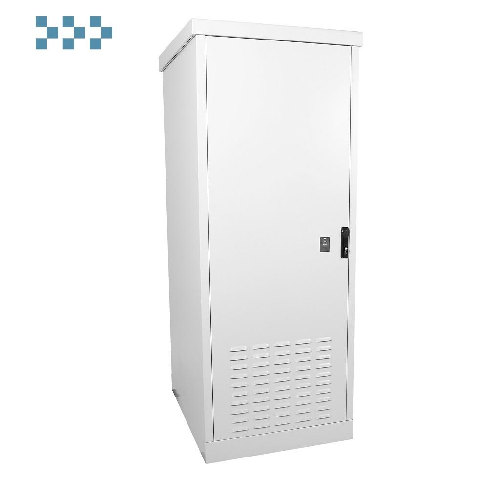 Шкаф уличный всепогодный напольный укомплектованный ЦМО ШТВ-1-24.7.6-43АА-Т1