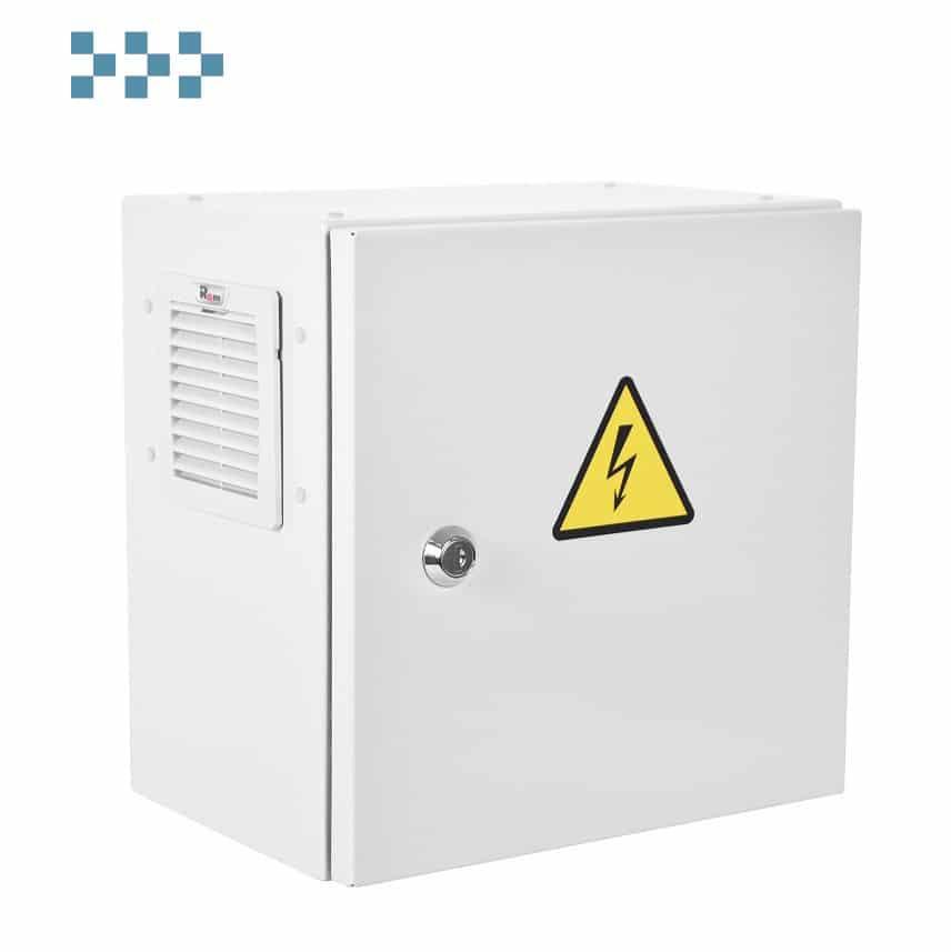 Шкаф ЭКОНОМ уличный всепогодный настенный укомплектованный ШТВ-НЭ-3.3.21-3ВВА-Т1