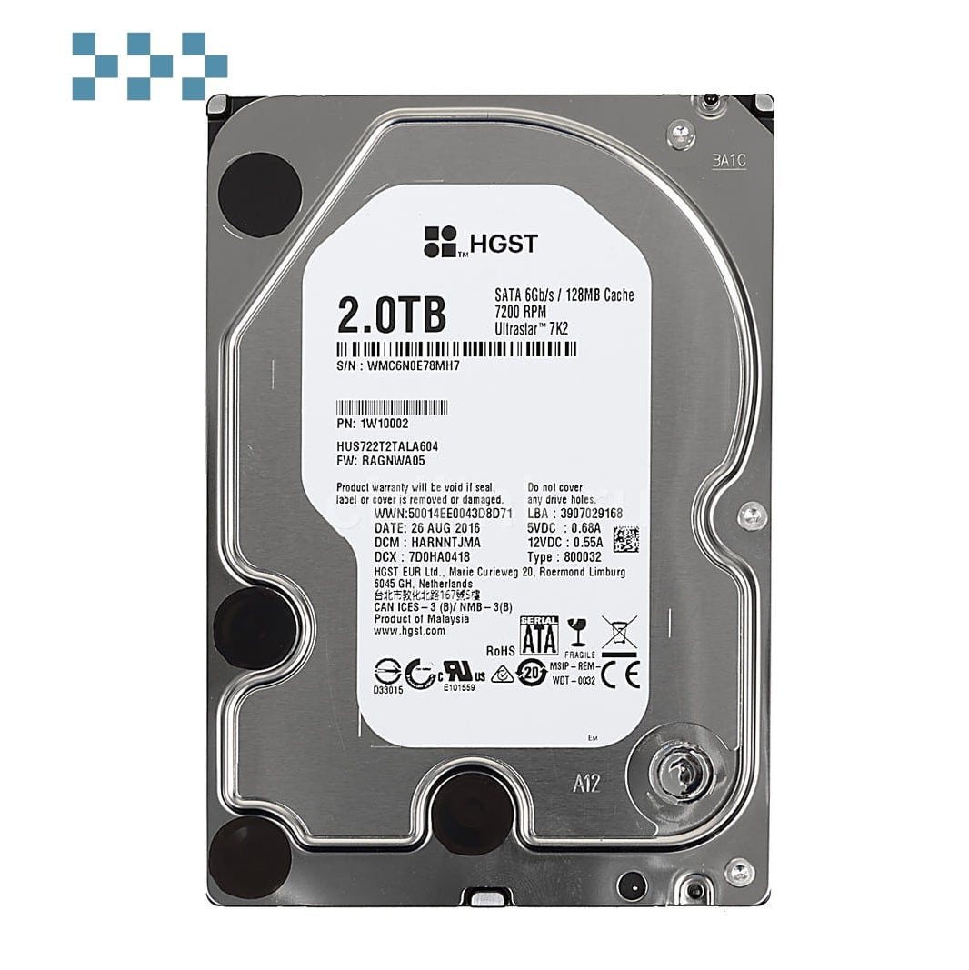Жесткий диск WD HUS722T2TALA604