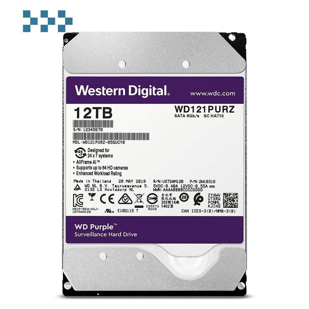 Жесткий диск WD WD121PURZ