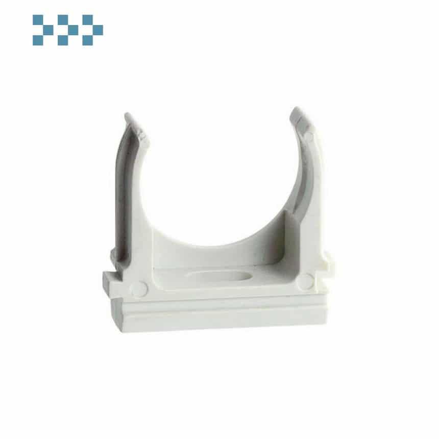 Держатель (клипса) для труб D40мм Ecoplast 41740