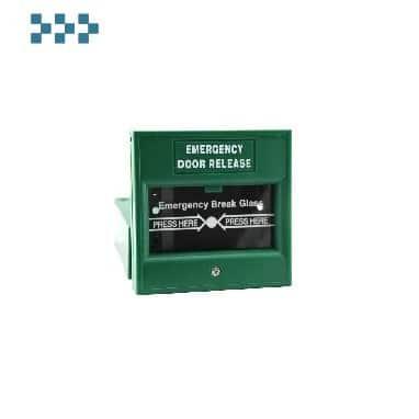 Устройство аварийной разблокировки двери ZKTeco ZKABK-900A(Green)