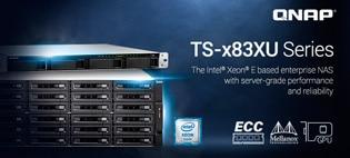 TS-x83XU — NAS-серверы корпоративного уровня на базе Intel Xeon E и ECC-памяти