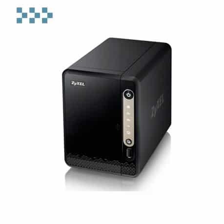 Персональное облачное хранилище с 2 отсеками для дисков ZYXEL NAS326