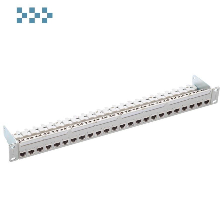 19″ 1U патч-панель кат.6, тип PC, 24xRJ45/s, экран. R&M R813489