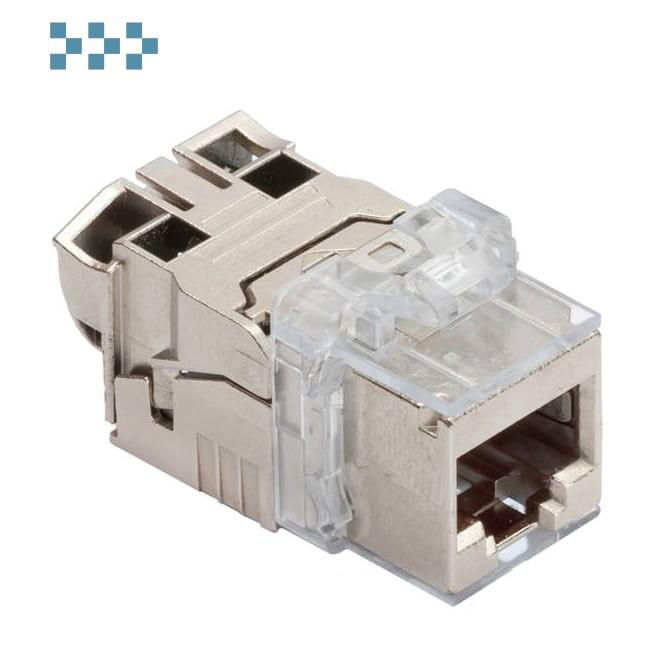 Модуль соединительный кат.6А EL, 1xRJ45/s, Keystone R&M R813512