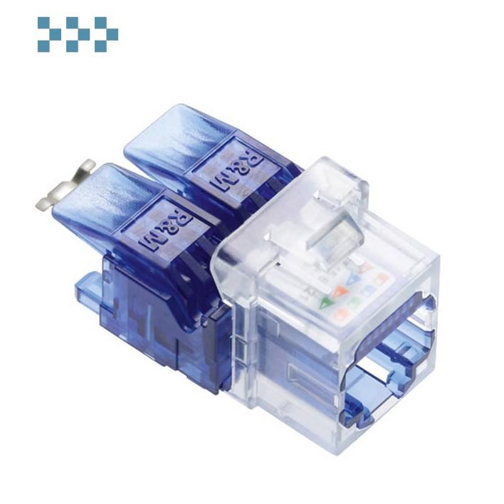 Модуль соединительный кат.6, 1xRJ45/u, Keystone R&M R813810
