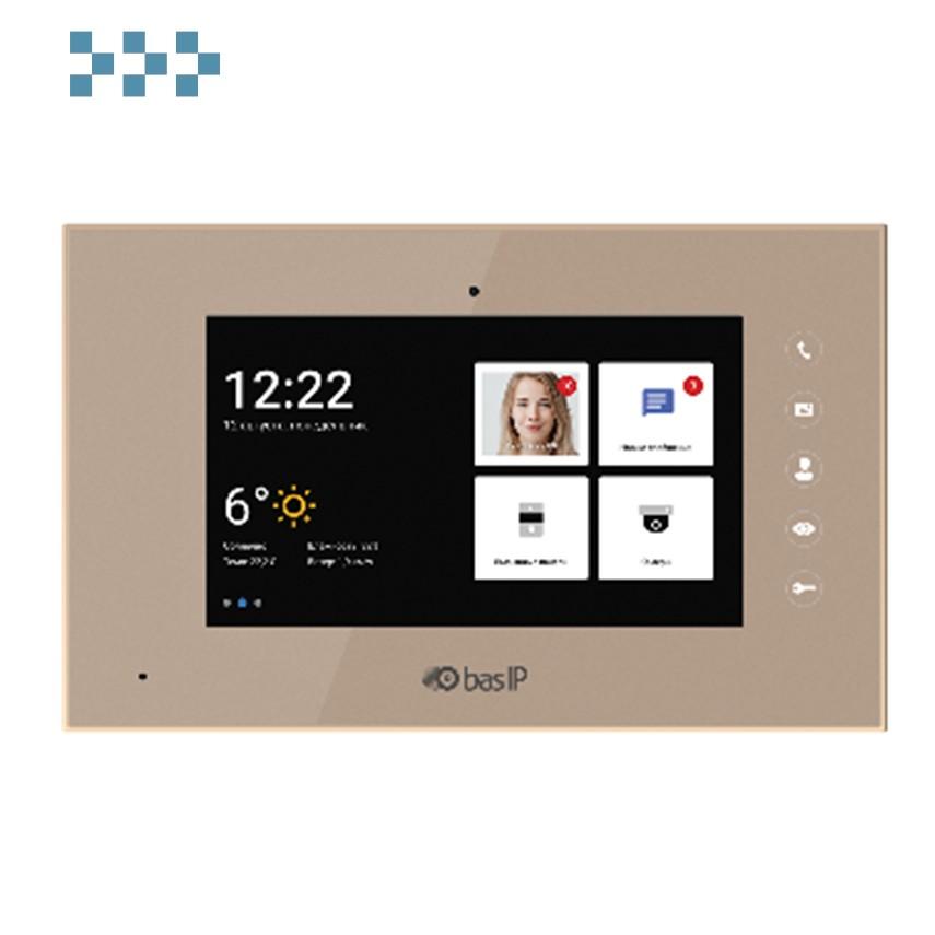 Видеодомофон BAS-IP AQ-07L GOLD
