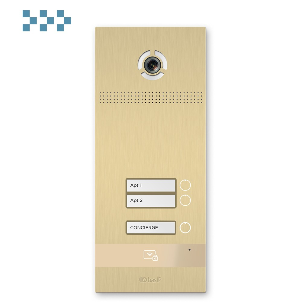 Вызывная панель BAS-IP BI-02FB GOLD