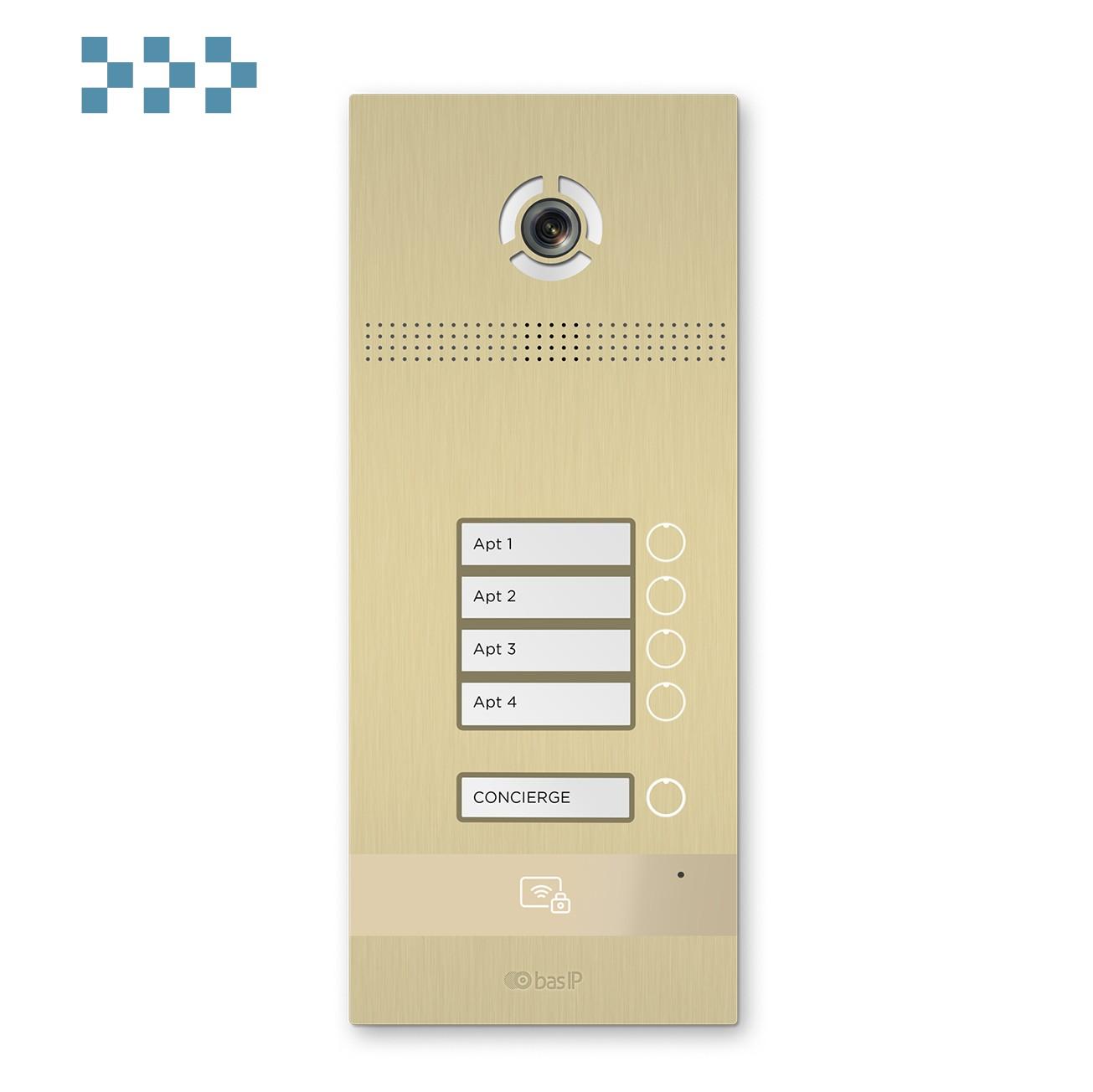 Вызывная панель BAS-IP BI-04FB GOLD