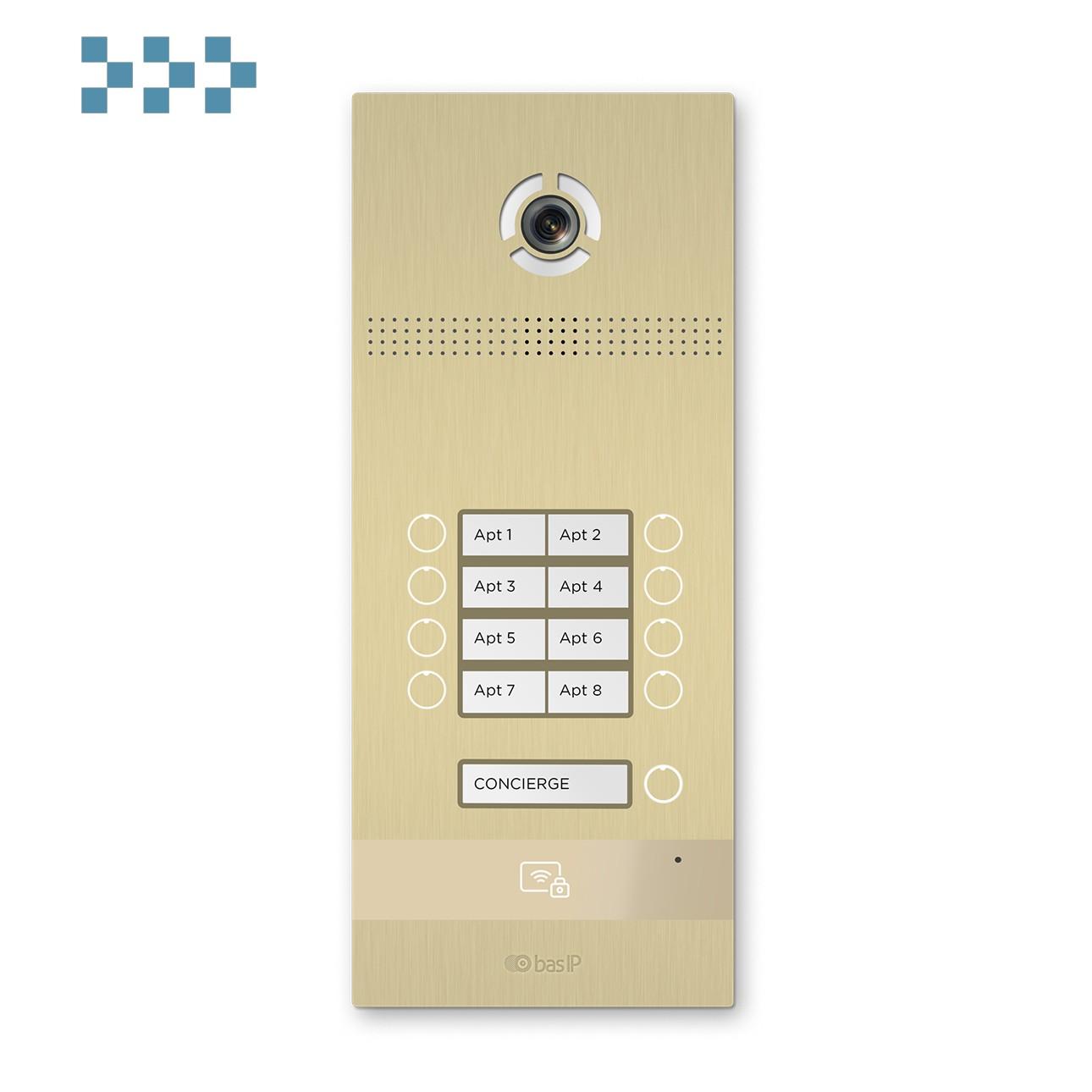 Вызывная панель BAS-IP BI-08FB GOLD