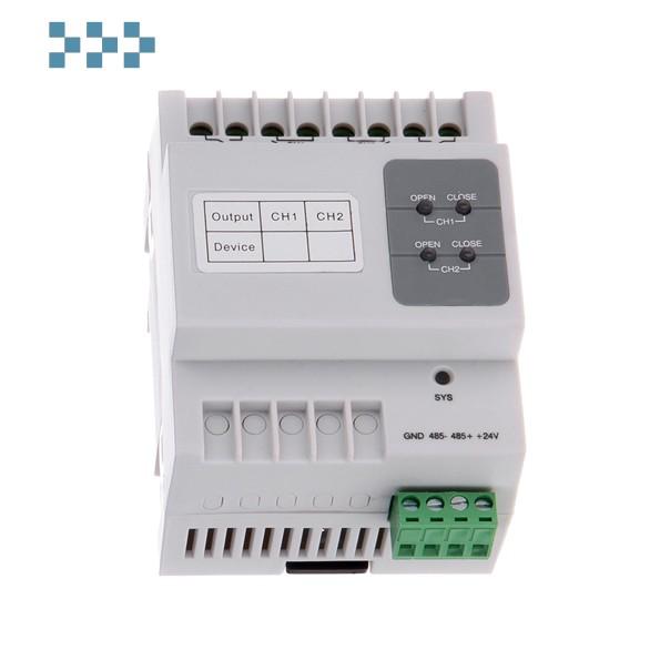 2-х канальный модуль управления шторами BAS-IP SH-63