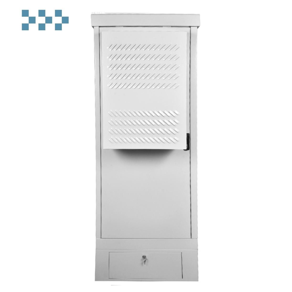 Шкаф уличный всепогодный напольный укомплектованный 18U ЦМО ШТВ-1-18.7.9-К3АА-ТК
