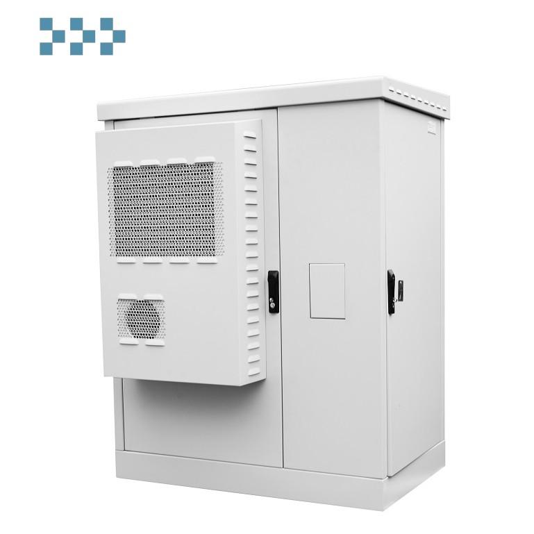 Шкаф всепогодный напольный укомплектованный 18U ЦМО ШТВ-2-18.10.6-К3А3-ТК