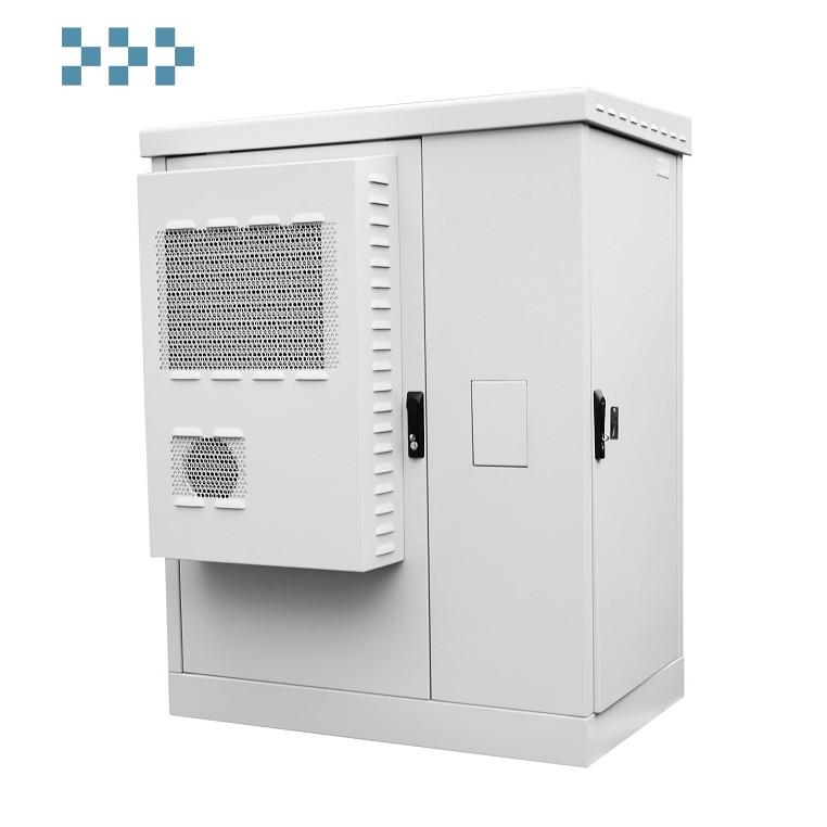 Шкаф всепогодный напольный укомплектованный 18U ЦМО ШТВ-2-18.10.9-К3А3-ТК