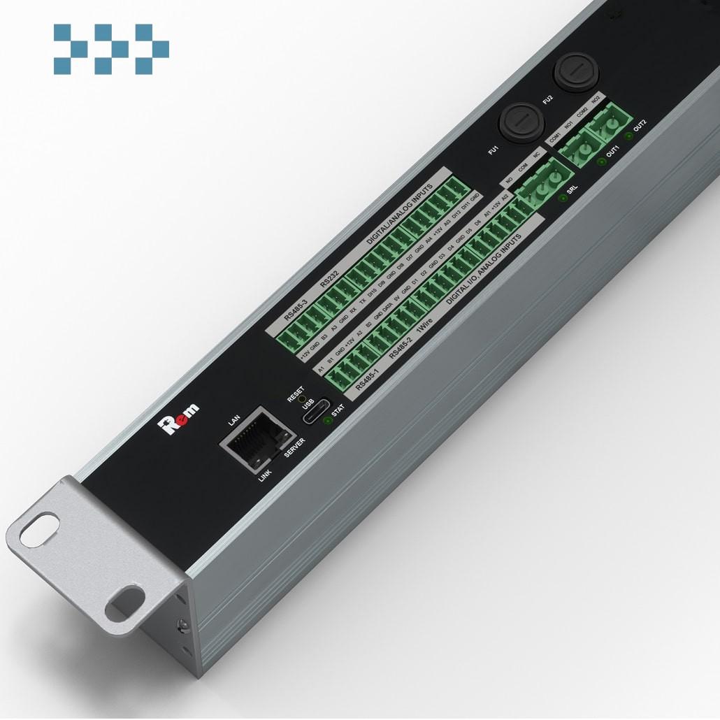 Контроллер Rem-MC1 удалённого управления и мониторинга R-MC4-220-1.8