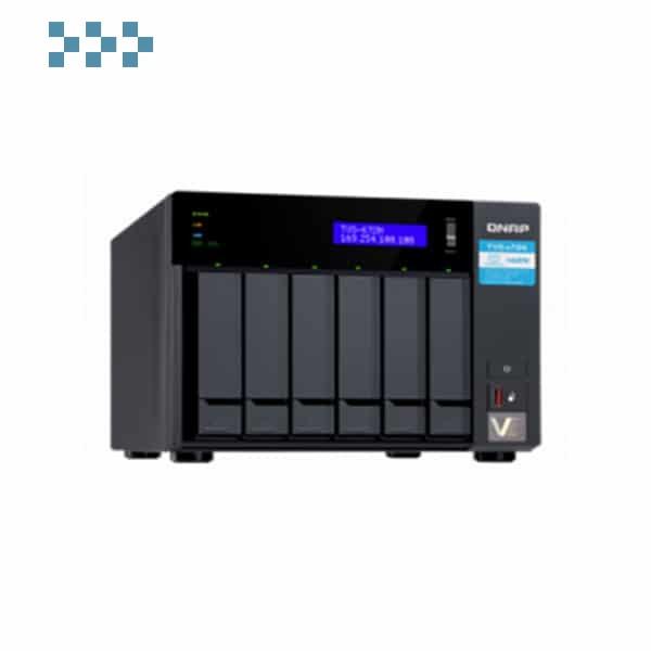 Сетевой накопитель QNAP TVS-672N-i3-4G