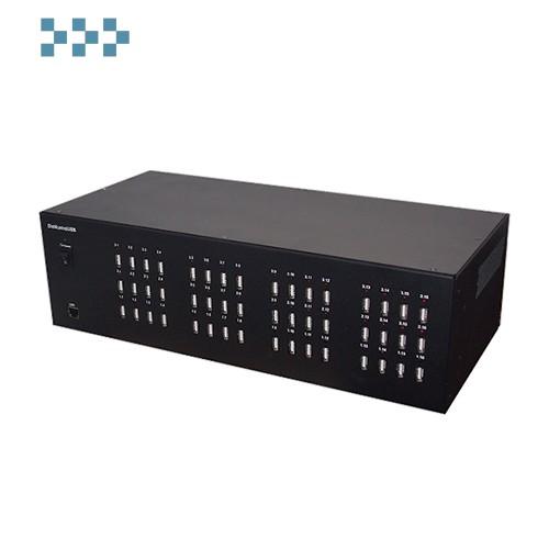 Управляемый USB over IP концентратор с 48 портами USB DistKontrolUSB-48