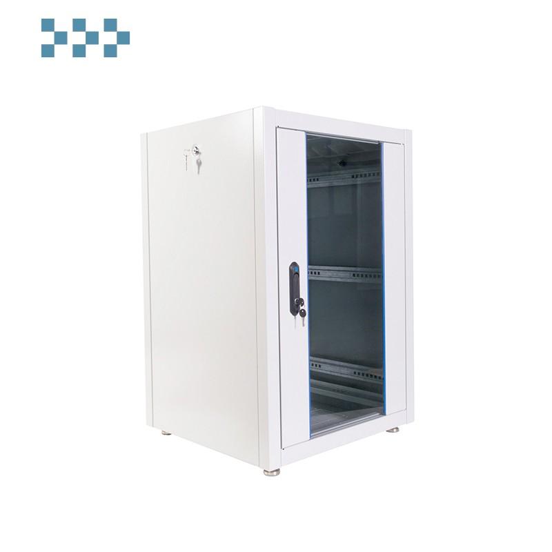 Шкаф телекоммуникационный напольный ЭКОНОМ 18U (600 × 800) ЦМО ШТК-Э-18.6.8-13АА