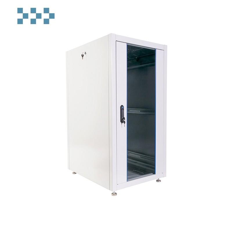 Шкаф телекоммуникационный напольный ЭКОНОМ 24U (600 × 800) ЦМО ШТК-Э-24.6.8-13АА