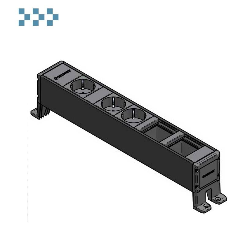 Розеточный блок CUBO IB Connect 33203439-3