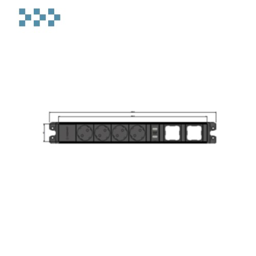 Розеточный блок CUBO IB Connect 33203469-3