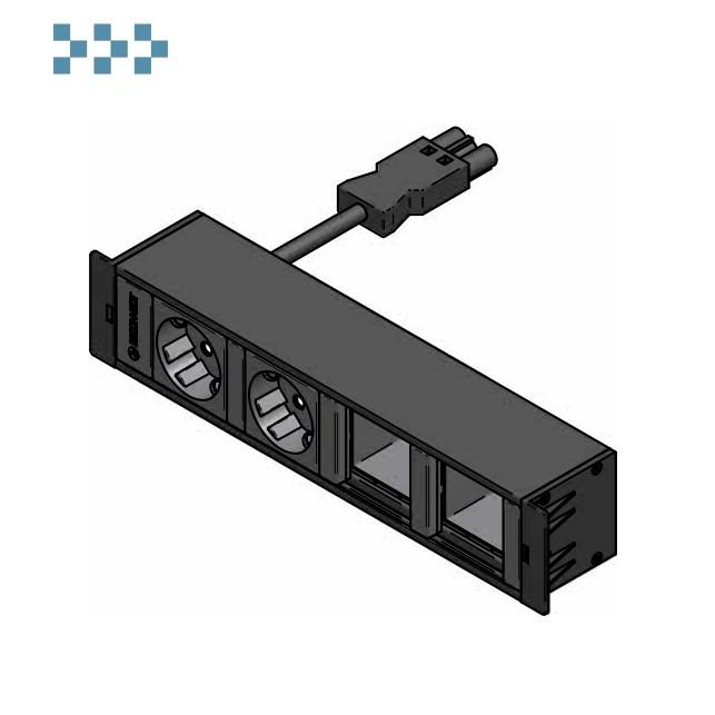 Розеточный блок CUBOBOX4 IB Connect 34203205-3