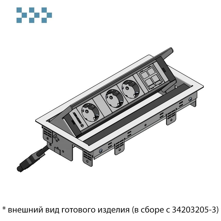 Настольный люк BOX IB Connect 44101004-4