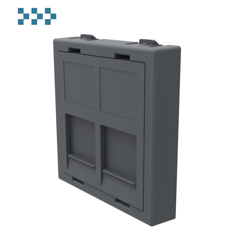 Лицевая панель для двух коннекторов RJ-45 IB Connect 91113011-3