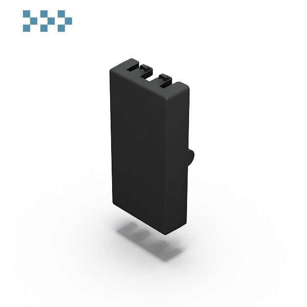 Заглушка 45х22,5 серая IB Connect 91113014-3