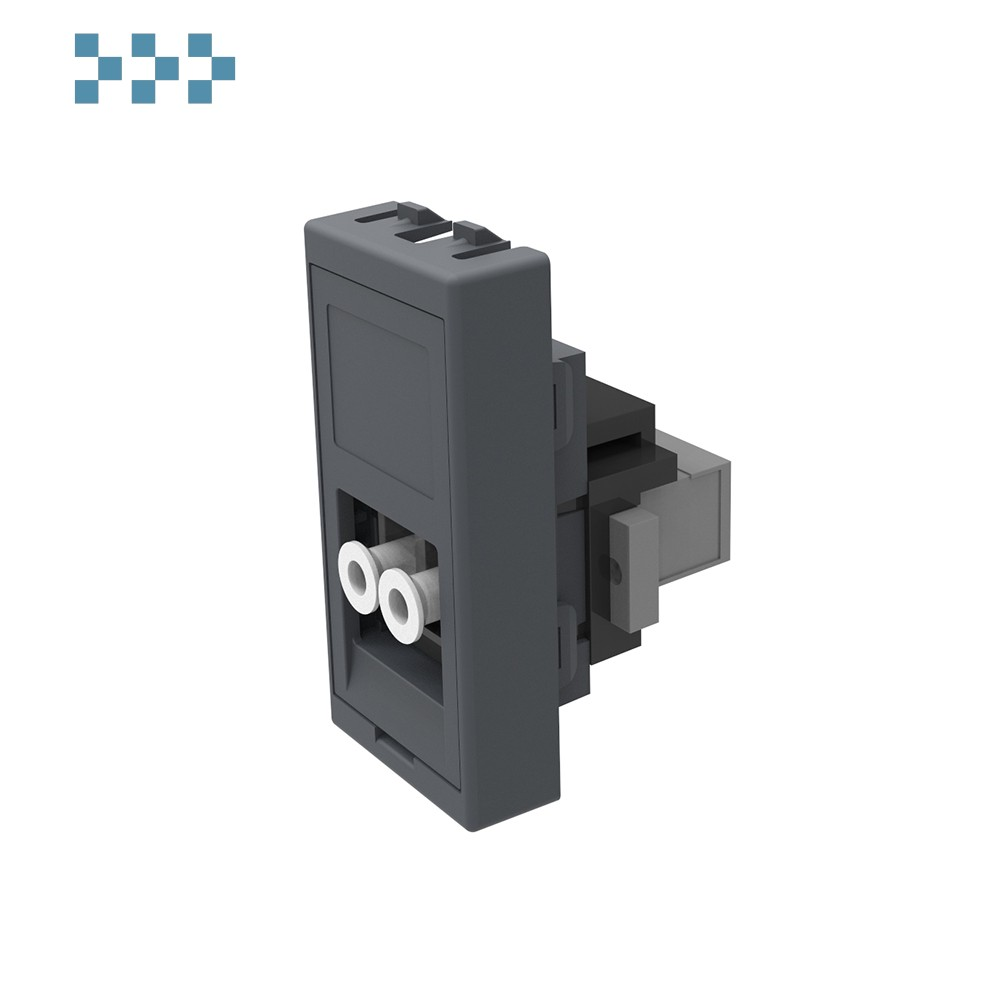 Модуль серый 45 X 22,5 1х LC IB Connect 91113028-3