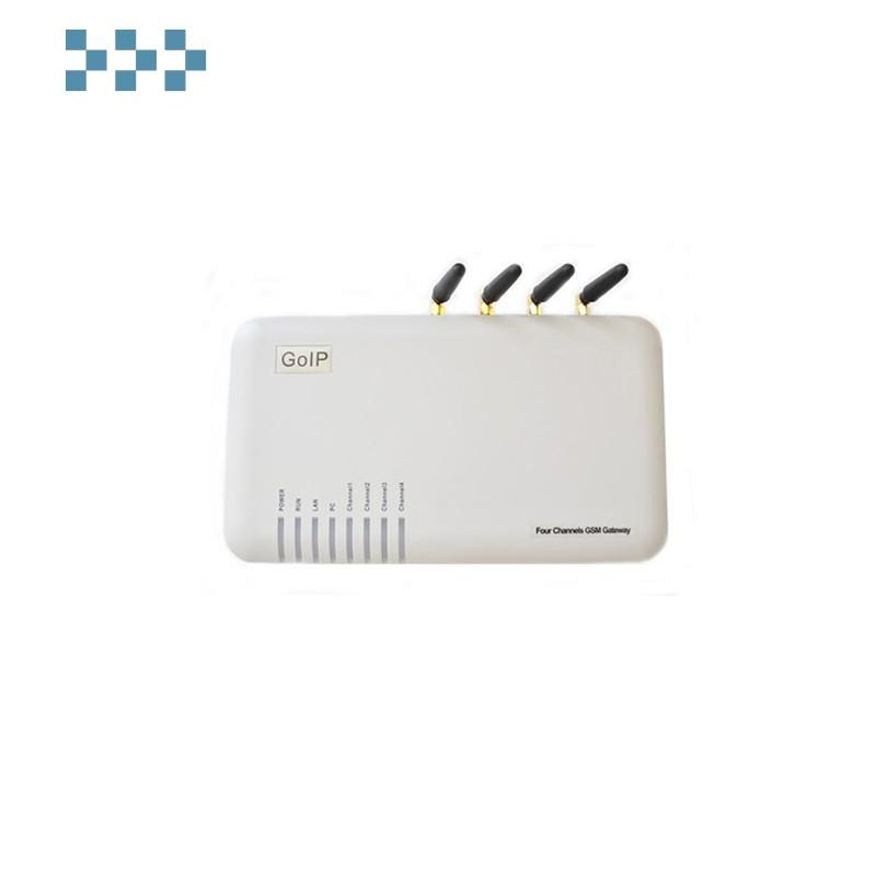 4-канальный VOIP-GSM шлюз Grandstream Goip-4