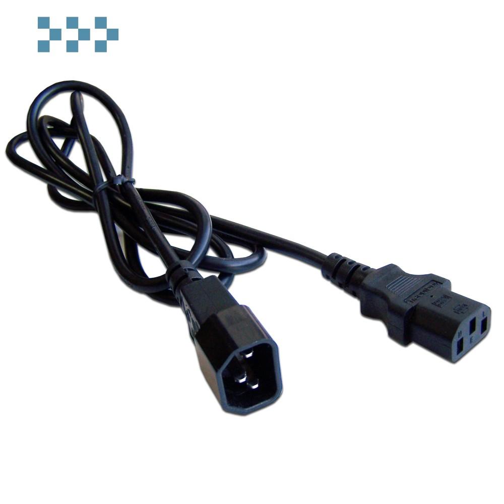 Шнур питания C14-C13 LANMASTER LAN-PP13/14-7.0-BK