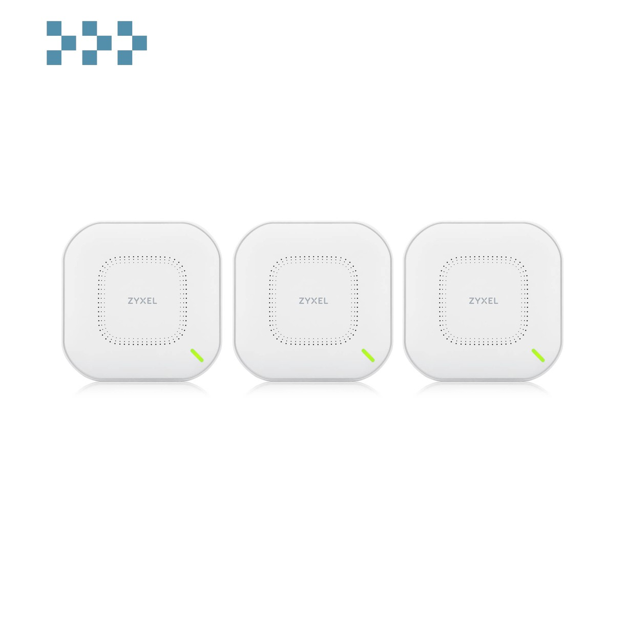 Комплект из трех гибридных точек доступа ZYXEL NebulaFlex NWA210AX-EU0103F