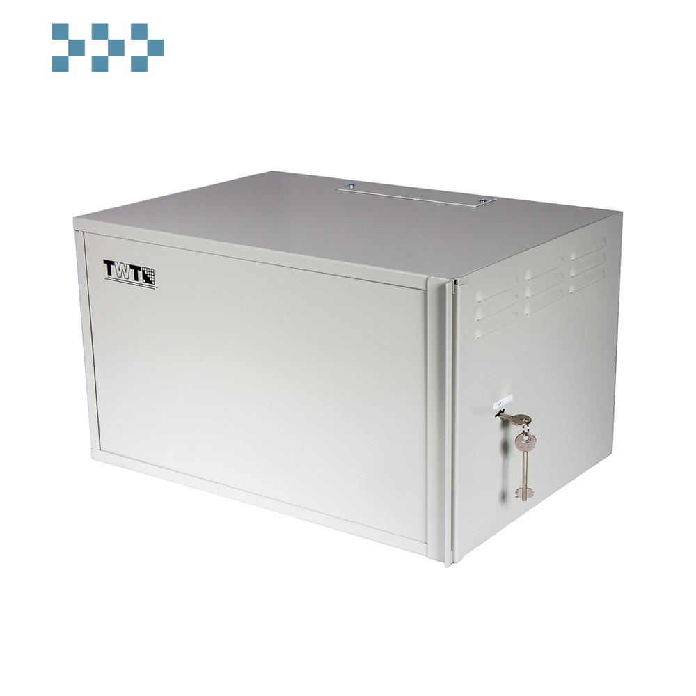 Шкаф антивандальный пенального типа 9U TWT-CBWSF-9U-6×4-GY