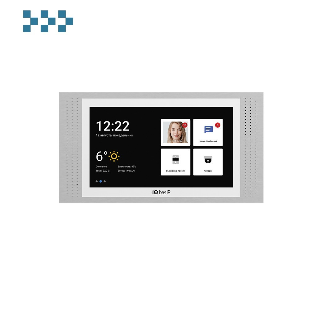 Видеодомофон BAS-IP AT-07L WHITE