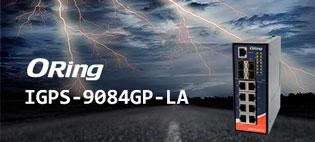 Промышленный Ethernet-коммутатор ORing IGPS-9084GP-LA в малом форм-факторе с повышенной безопасностью