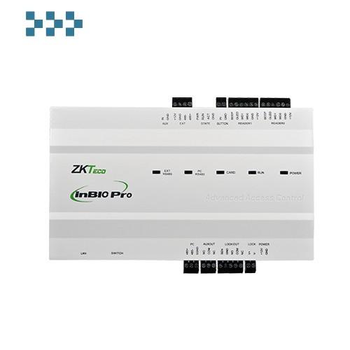 Биометрический сетевой контроллер на 4 двухсторонние двери ZKTeco inBio460 Pro