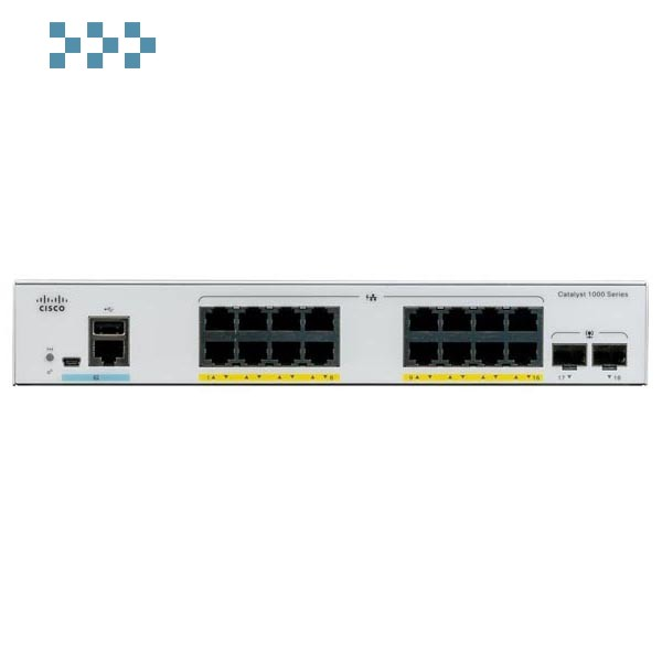 Коммутатор Cisco C1000-16FP-2G-L