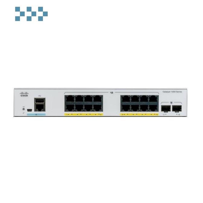 Коммутатор Cisco C1000-16T-2G-L