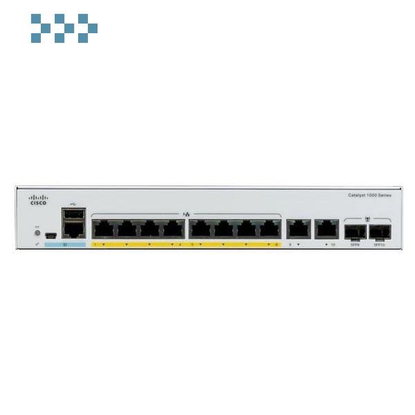 Коммутатор Cisco C1000-8FP-2G-L