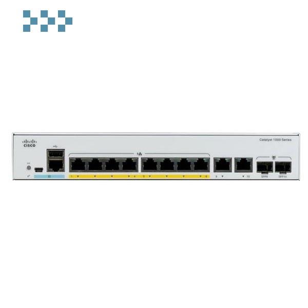 Коммутатор Cisco C1000-8P-E-2G-L