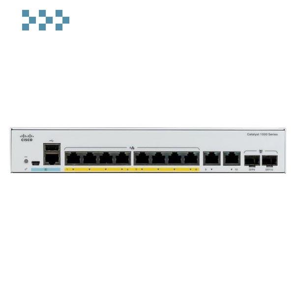 Коммутатор Cisco C1000-8T-E-2G-L