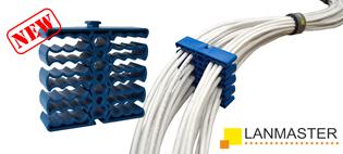 Идеи от LANMASTER: Как аккуратно уложить кабель