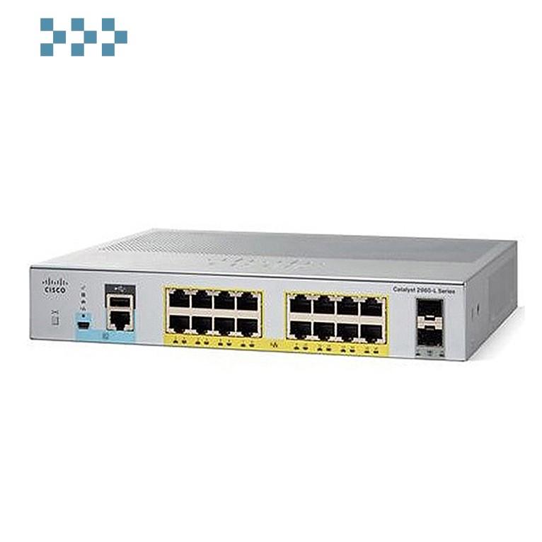 Коммутатор Cisco WS-C2960L-16PS-LL